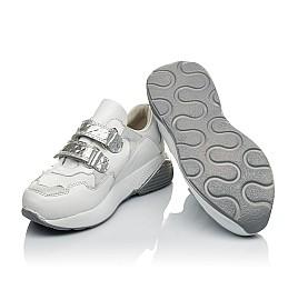 Детские кроссовки Woopy Orthopedic белые для девочек натуральная кожа размер 26-30 (4045) Фото 2
