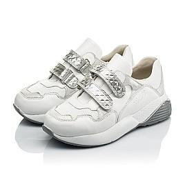 Детские кроссовки Woopy Orthopedic белые для девочек натуральная кожа размер 26-30 (4045) Фото 3