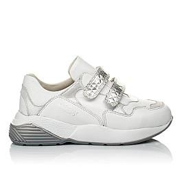 Детские кроссовки Woopy Orthopedic белые для девочек натуральная кожа размер 26-30 (4045) Фото 4