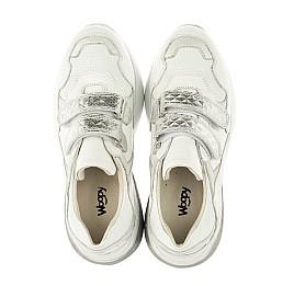 Детские кроссовки Woopy Orthopedic белые для девочек натуральная кожа размер 26-30 (4045) Фото 5