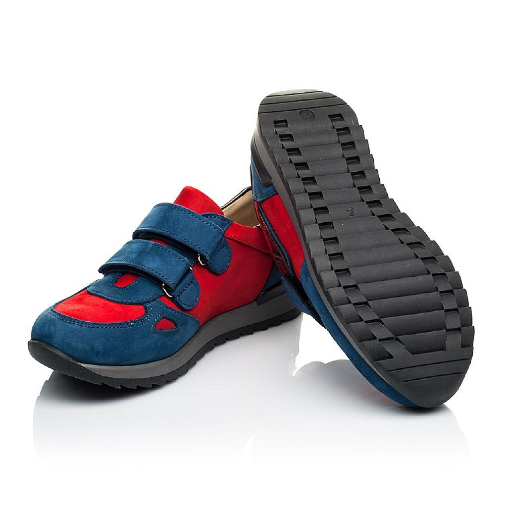 Детские кроссовки Woopy Orthopedic синие для мальчиков натуральный нубук размер 21-40 (4046) Фото 2