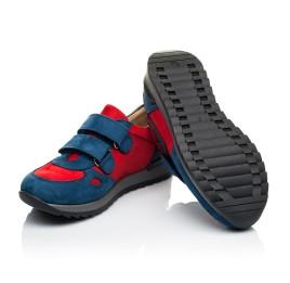Детские кроссовки Woopy Orthopedic синие для мальчиков натуральный нубук размер 21-33 (4046) Фото 2