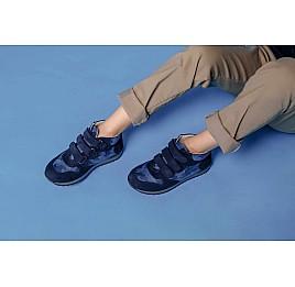 Детские кроссовки Woopy Orthopedic синие для мальчиков натуральный нубук размер 21-40 (4052) Фото 7
