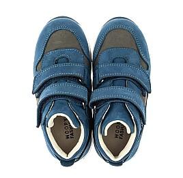 Детские кроссовки Woopy Orthopedic синие для мальчиков натуральный нубук размер 21-40 (4057) Фото 5