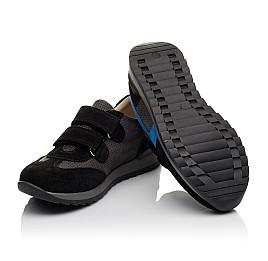 Детские кроссовки Woopy Orthopedic синие для мальчиков натуральный нубук размер 35-40 (4066) Фото 2