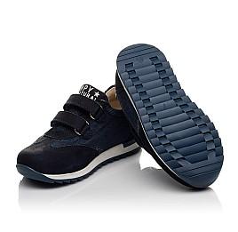 Детские кроссовки Woopy Orthopedic темно-синие для мальчиков натуральный нубук, деним размер 23-26 (4076) Фото 2