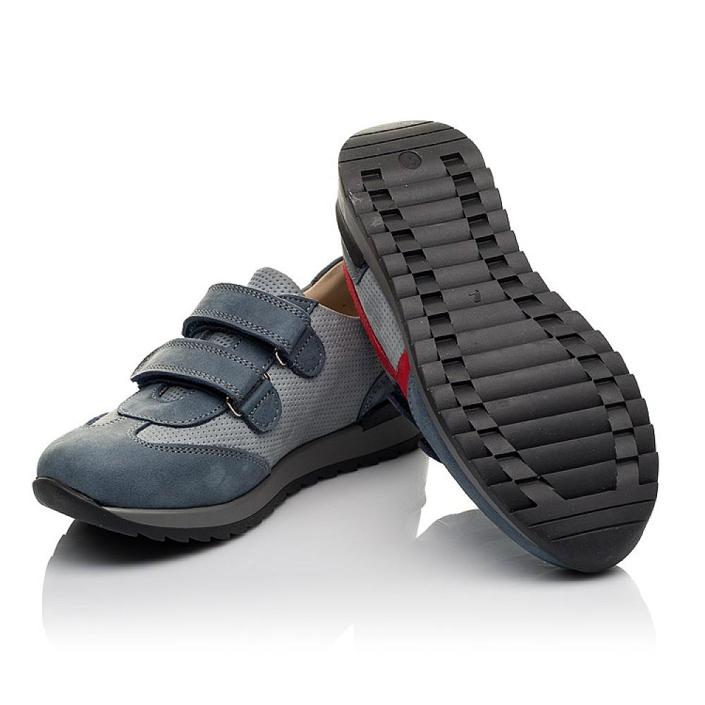 Детские кроссовки Woopy Orthopedic серые для мальчиков натуральный нубук размер 31-40 (4077) Фото 2