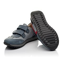 Детские кроссовки Woopy Orthopedic серые для мальчиков натуральный нубук размер 33-40 (4077) Фото 2