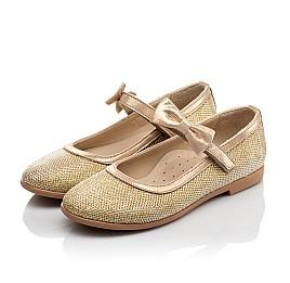 Детские туфли Woopy Orthopedic золотые для девочек современный искусственный материал размер 31-37 (4085) Фото 3