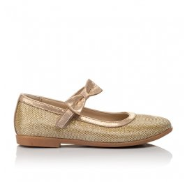 Детские туфли Woopy Orthopedic золотые для девочек современный искусственный материал размер 28-37 (4085) Фото 4