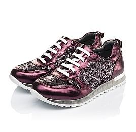 Детские кросівки Woopy Orthopedic фиолетовые для девочек натуральная кожа размер 36-36 (4105) Фото 3