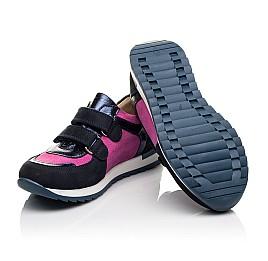 Детские кроссовки Woopy Orthopedic темно-синие для девочек натуральный нубук размер 36-36 (4113) Фото 2