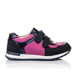 Детские кроссовки Woopy Orthopedic темно-синие для девочек натуральный нубук размер 36-36 (4113) Фото 4