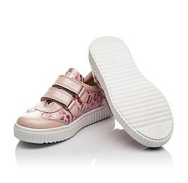 Детские кеды Woopy Orthopedic розовые для девочек  натуральная кожа размер 28-40 (4117) Фото 2