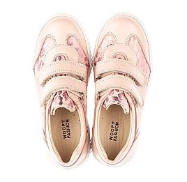 Детские кеды Woopy Orthopedic розовые для девочек  натуральная кожа размер 28-40 (4117) Фото 5