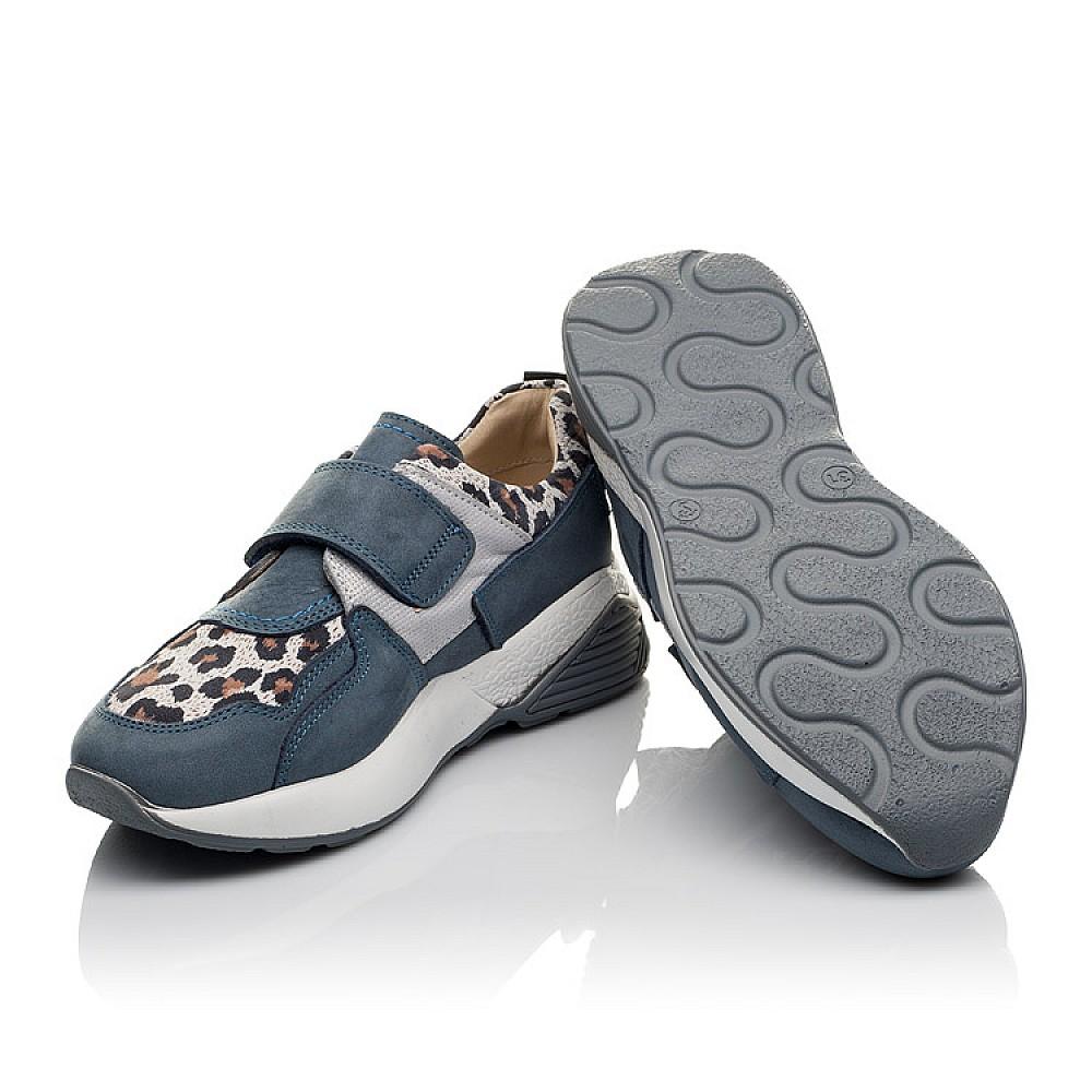 Детские кроссовки Woopy Orthopedic синие для девочек натуральный нубук размер 31-36 (4121) Фото 2