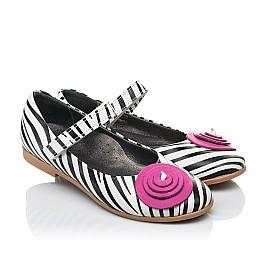 Детские туфли Woopy Orthopedic белые для девочек натуральная кожа размер 31-33 (4131) Фото 1