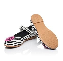 Детские туфли Woopy Orthopedic белые для девочек натуральная кожа размер 31-33 (4131) Фото 2