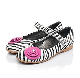 Детские туфли Woopy Orthopedic белые для девочек натуральная кожа размер 29-33 (4131) Фото 3