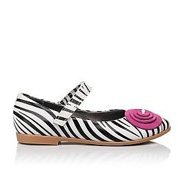 Детские туфли Woopy Orthopedic белые для девочек натуральная кожа размер 31-33 (4131) Фото 4