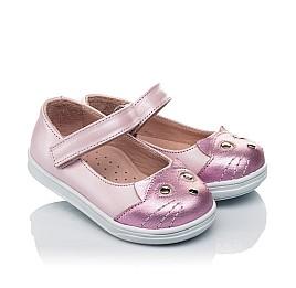 Детские туфли Woopy Orthopedic розовые для девочек натуральный нубук размер 19-22 (4136) Фото 2