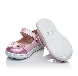 Детские туфли Woopy Orthopedic розовые для девочек натуральный нубук размер 19-22 (4136) Фото 4