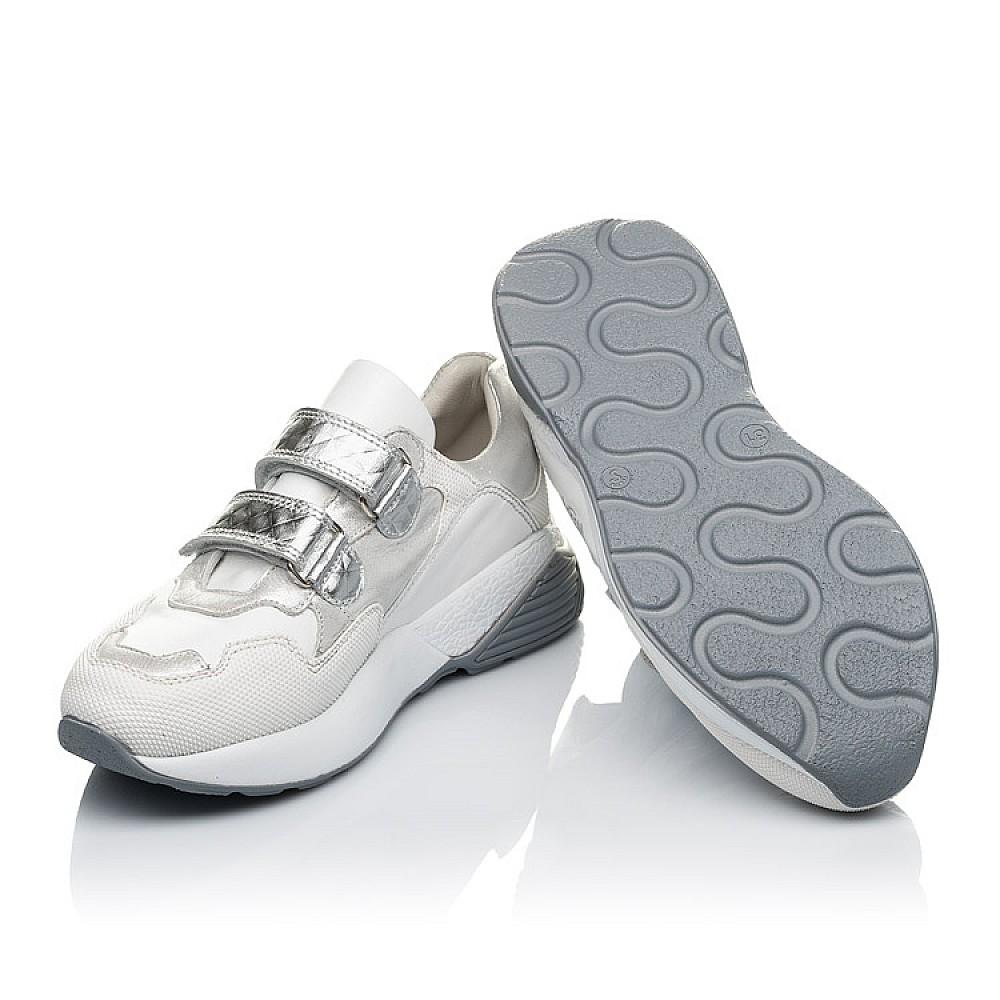 Детские кроссовки Woopy Orthopedic белые для девочек натуральная кожа размер 26-40 (4145) Фото 2