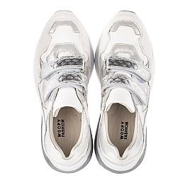 Детские кроссовки Woopy Orthopedic белые для девочек натуральная кожа размер 26-39 (4145) Фото 5