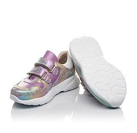 Детские кроссовки Woopy Orthopedic фиолетовые для девочек натуральный нубук размер 27-30 (4162) Фото 2