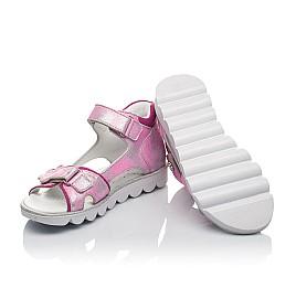 Детские босоножки Woopy Orthopedic розовые для девочек натуральная кожа размер 26-36 (4169) Фото 2
