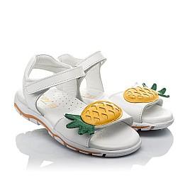 Детские босоніжки Woopy Orthopedic белые для девочек натуральная кожа размер 29-32 (4188) Фото 1