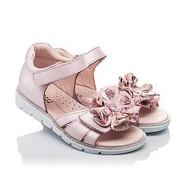 Детские босоніжки Woopy Orthopedic розовые для девочек натуральная кожа размер 27-38 (4191) Фото 1