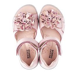Детские босоніжки Woopy Orthopedic розовые для девочек натуральная кожа размер 27-38 (4191) Фото 2