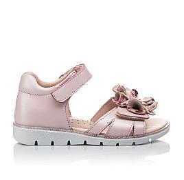Детские босоніжки Woopy Orthopedic розовые для девочек натуральная кожа размер 27-38 (4191) Фото 3