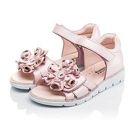 Детские босоніжки Woopy Orthopedic розовые для девочек натуральная кожа размер 27-38 (4191) Фото 4