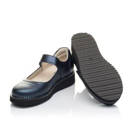 Детские туфли Woopy Orthopedic синие для девочек натуральная кожа размер 31-37 (4193) Фото 2