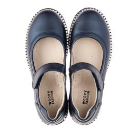 Детские туфли Woopy Orthopedic синие для девочек натуральная кожа размер 31-37 (4193) Фото 5