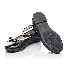 Детские туфли Woopy Orthopedic черные для девочек натуральная кожа размер 30-36 (4229) Фото 2
