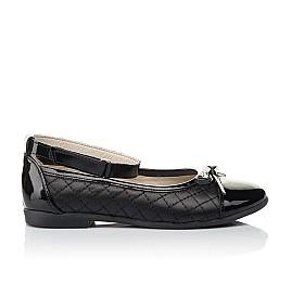 Детские туфли Woopy Orthopedic черные для девочек натуральная кожа размер 30-36 (4229) Фото 4