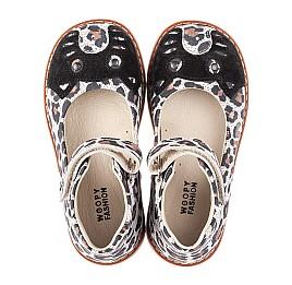 Детские туфли Woopy Orthopedic разноцветные для девочек натуральный нубук размер 24-33 (4238) Фото 5