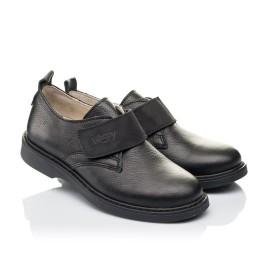 Детские туфли Woopy Orthopedic черные для мальчиков натуральная кожа размер 31-36 (4242) Фото 1