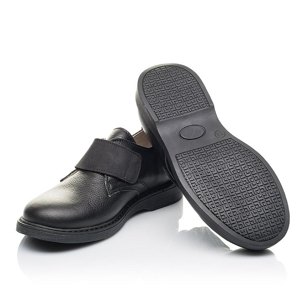 Детские туфли Woopy Orthopedic черные для мальчиков натуральная кожа размер 31-36 (4242) Фото 2