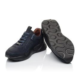 Детские кроссовки Woopy Orthopedic синие для мальчиков натуральный нубук размер 28-36 (4244) Фото 2