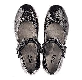 Детские туфли Woopy Orthopedic черные для девочек натуральная лаковая кожа размер 29-37 (4248) Фото 5