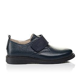 Детские туфли Woopy Orthopedic синие для мальчиков натуральная кожа размер 31-36 (4252) Фото 4