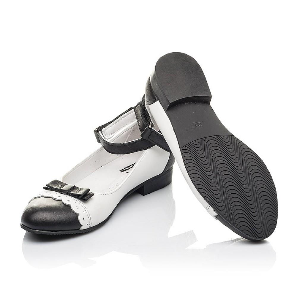 Детские туфли Woopy Orthopedic белые для девочек натуральная кожа размер 31-36 (4262) Фото 2