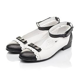Детские туфли Woopy Orthopedic белые для девочек натуральная кожа размер 31-36 (4262) Фото 3