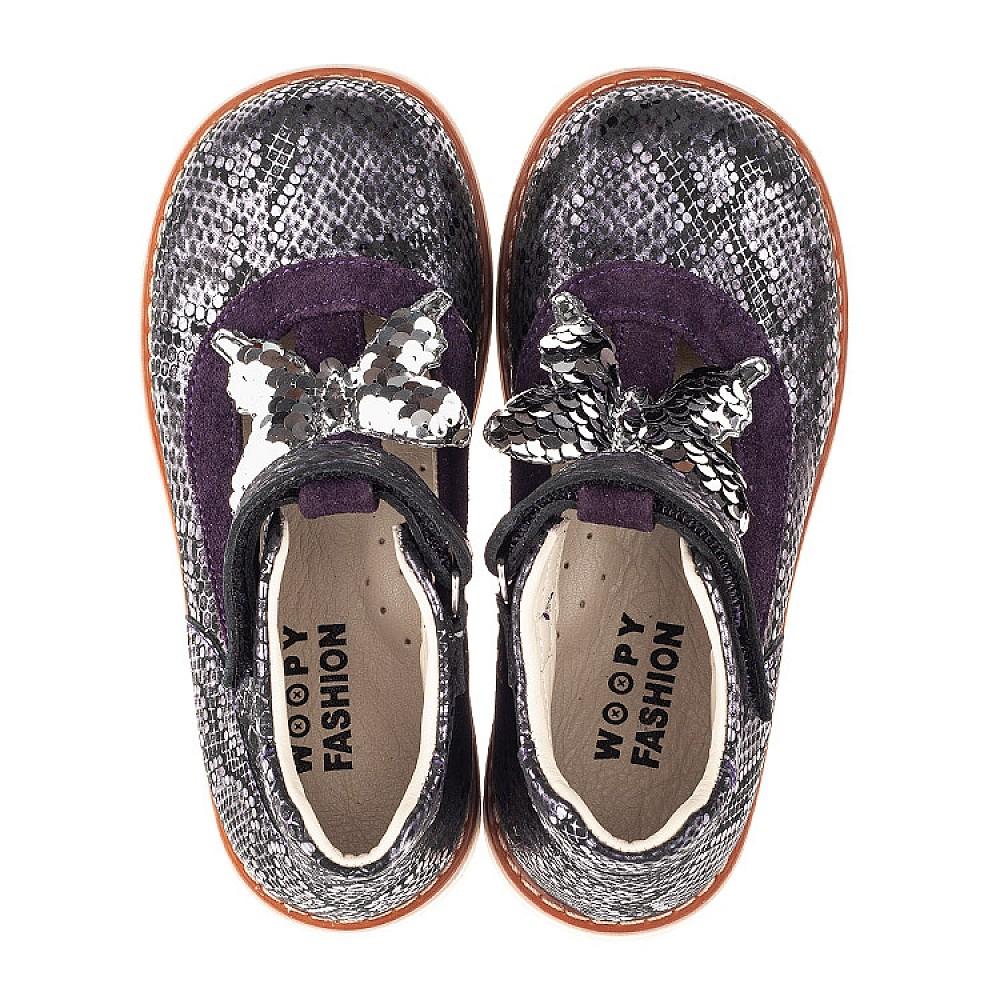 Детские туфлі Woopy Orthopedic  для девочек  размер 18-34 (4265) Фото 5