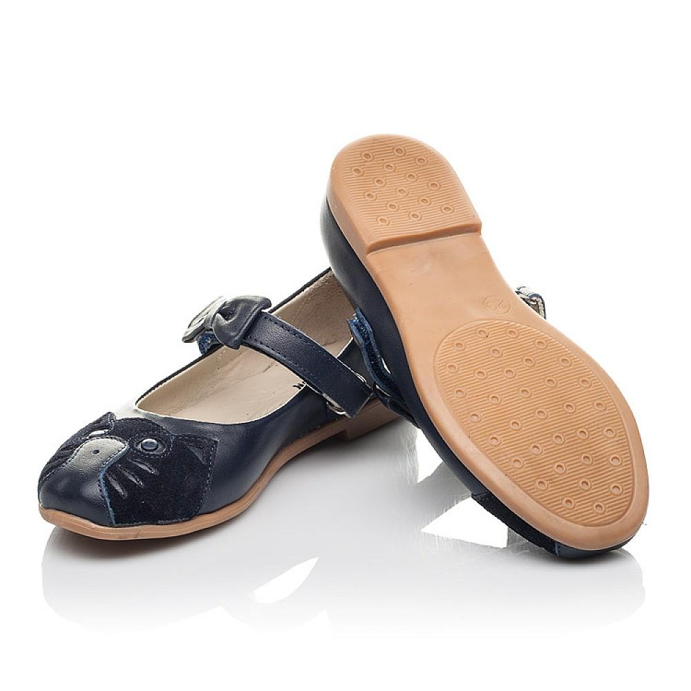Детские туфли Woopy Orthopedic синие для девочек натуральная кожа размер 29-36 (4266) Фото 2