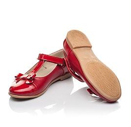 Детские туфли Woopy Orthopedic красные для девочек натуральная кожа размер 34-36 (4269) Фото 2